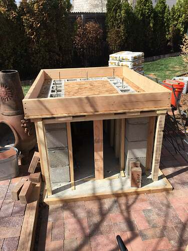 Homemade Outdoor Pizza Oven (16)