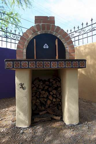 Building a Wood Fired Oven (8)