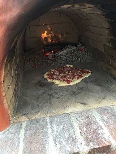 Homemade Outdoor Pizza Oven (51)