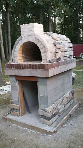 How To Make An Outdoor Pizza Oven (57)
