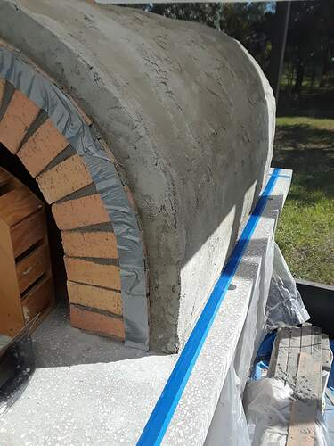 Building A Pizza Oven (171)