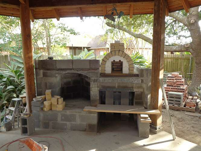 Outdoor Natural Stone Fireplace (4)