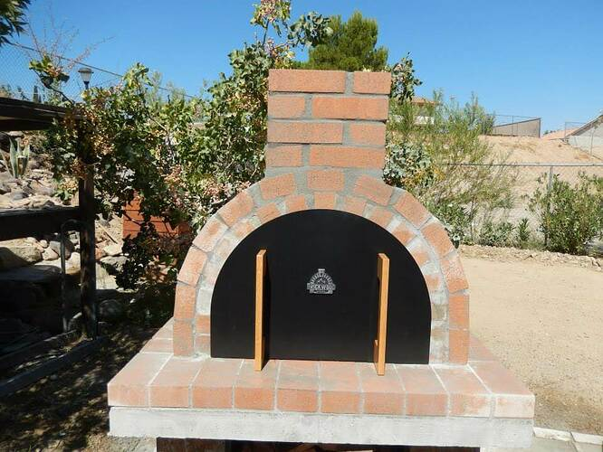 Build Your Own Brick Pizza Oven (31)
