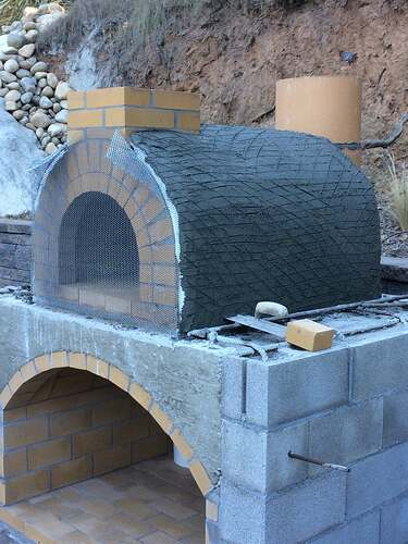 Pizza Oven Over Fireplace (8)