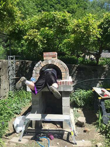 Garden Wood Fired Pizza Oven (55)