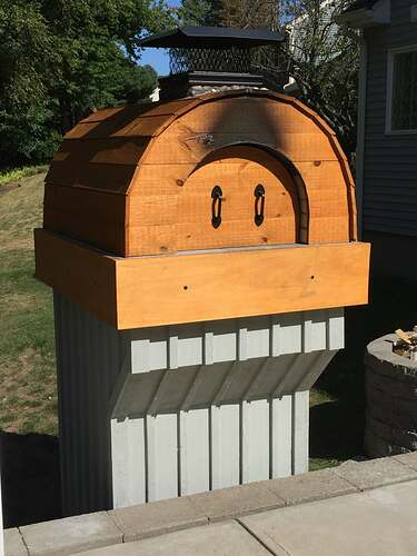 Building a Wood Fired Pizza Oven (55)
