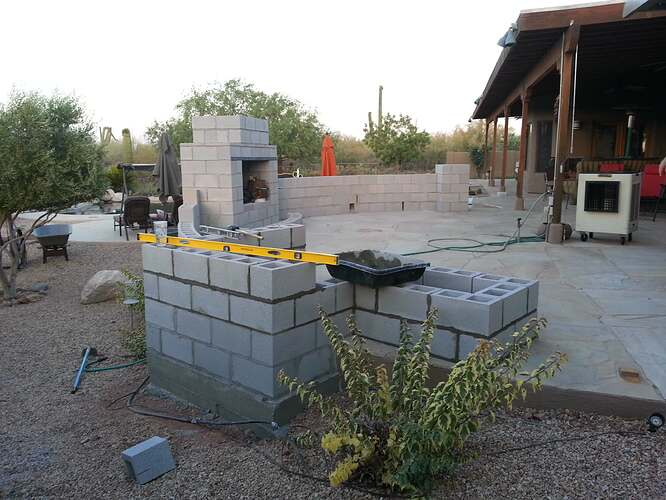 Outdoor Patio Fireplace (1)