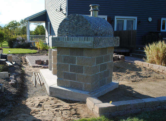 Outdoor Wood Fired Pizza Oven (42)