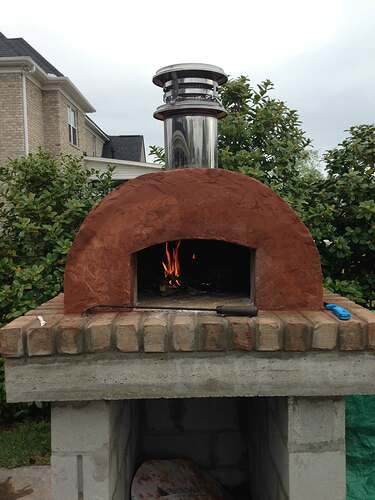 Build A BBQ And Pizza Oven (20)