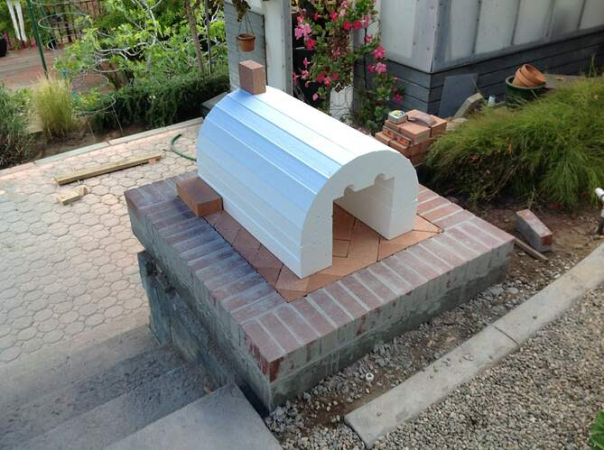 Outdoor Wood Fired Oven (6)