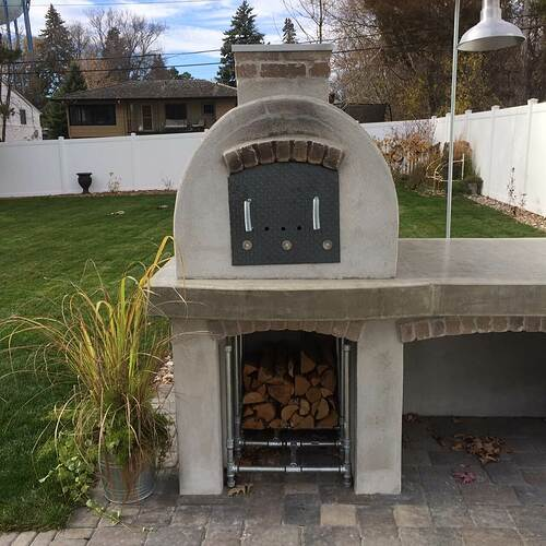 Building A Brick Pizza Oven From Scratch (56)