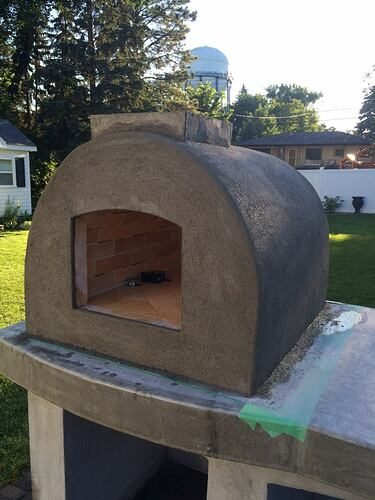 Building A Brick Pizza Oven From Scratch (53)