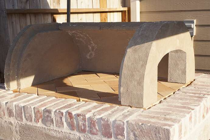 Refractory Cement Pizza Oven (83)
