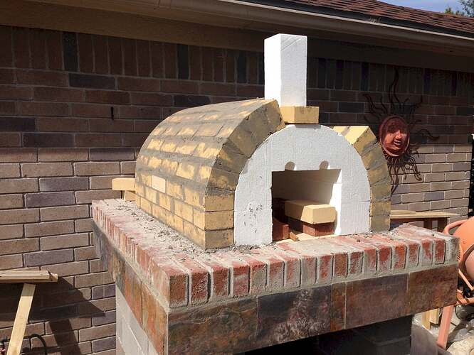 How To Make A Brick Pizza Oven (5)