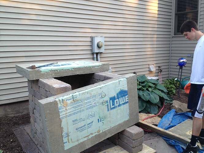 How To Build An Outdoor Brick Oven (49)