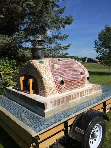 Portable Wood Fired Pizza Oven (11)