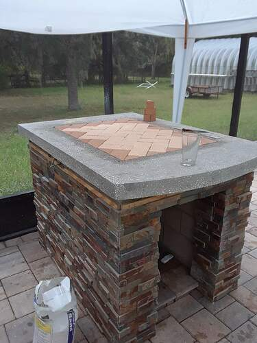 Building A Pizza Oven (82)