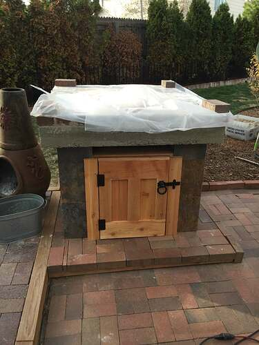 Homemade Outdoor Pizza Oven (25)