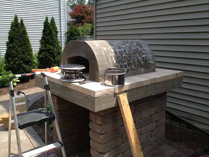 How To Build An Outdoor Brick Oven (64)