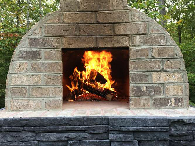 Wood Fired Brick Oven (116)