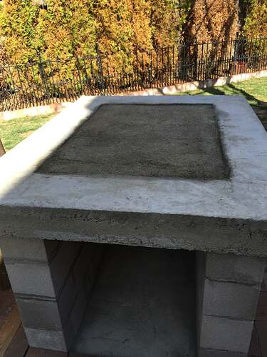 Homemade Outdoor Pizza Oven (24)