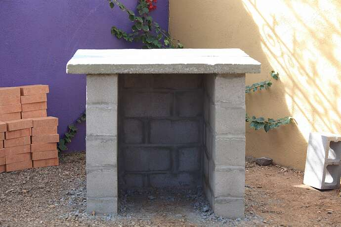 Building a Wood Fired Oven (2)