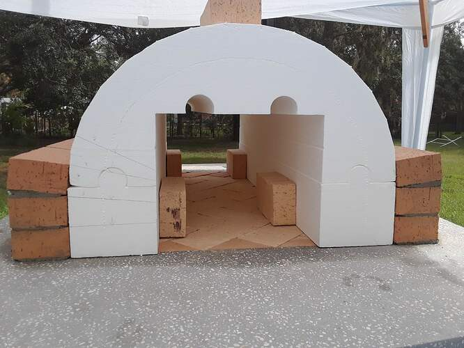 Building A Pizza Oven (94)