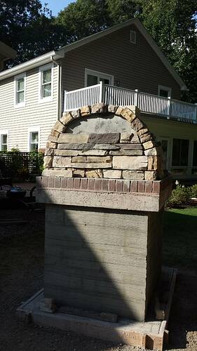 How To Make An Outdoor Pizza Oven (56)