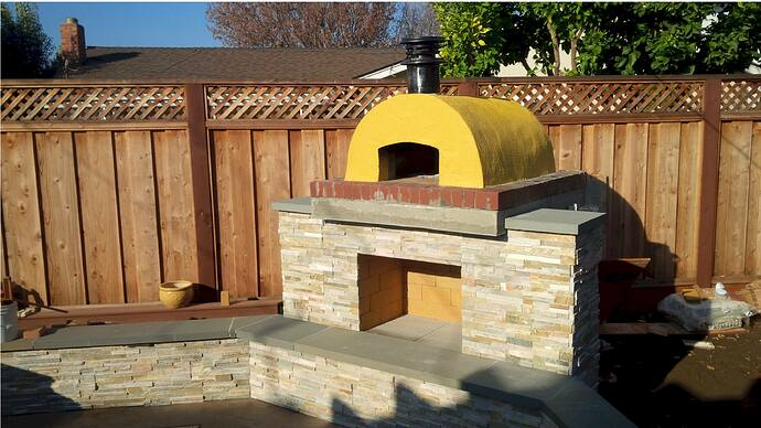 DIY Wood Fired Pizza Oven (49)