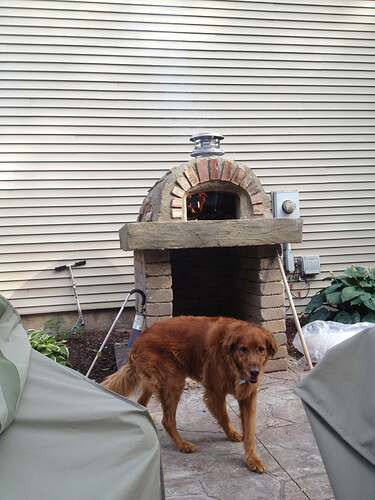 How To Build An Outdoor Brick Oven (87)