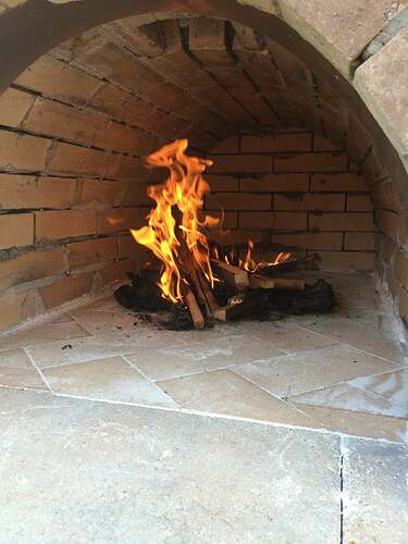 Making An Outdoor Pizza Oven (34)