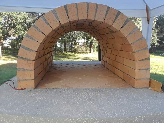 Building A Pizza Oven (120)