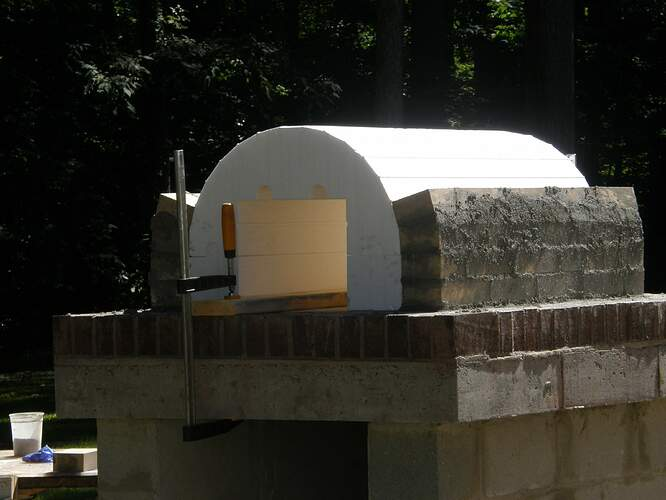 How To Make An Outdoor Pizza Oven (18)