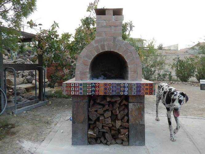 Build Your Own Brick Pizza Oven (30)