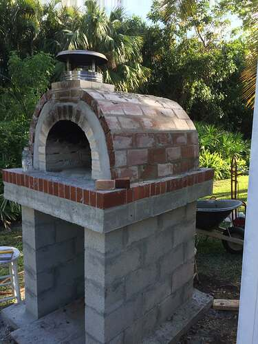 Building An Outdoor Oven (14)