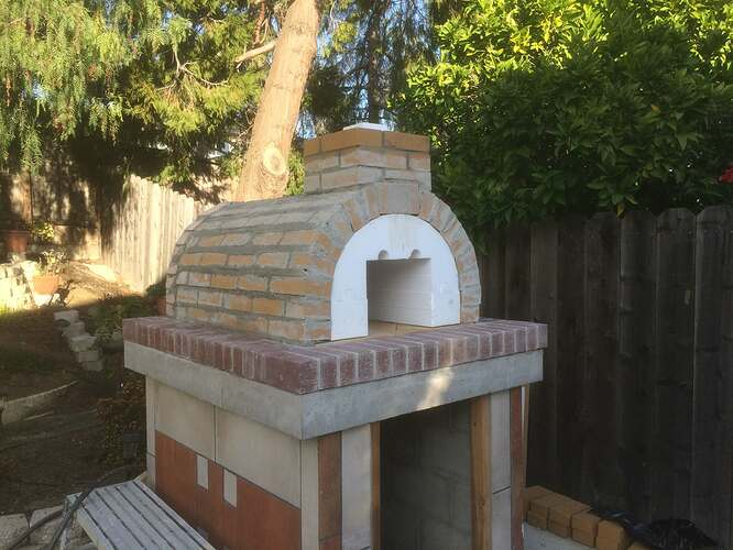 How To Make A Garden Pizza Oven (12)