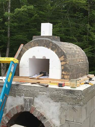 How To Build A Wood Fired Pizza Oven (46)