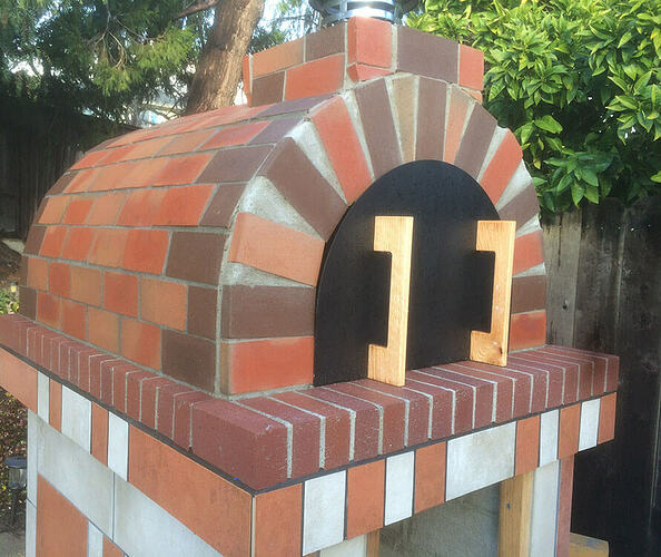 How To Make A Garden Pizza Oven (16)