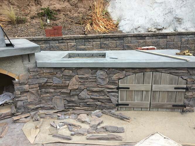 Pizza Oven Over Fireplace (20)