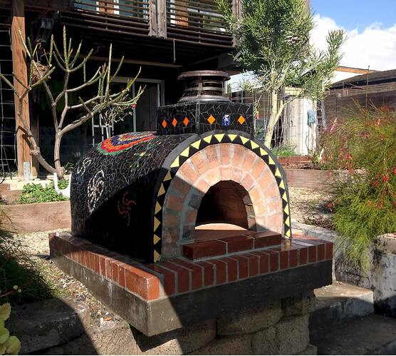 Outdoor Wood Fired Oven