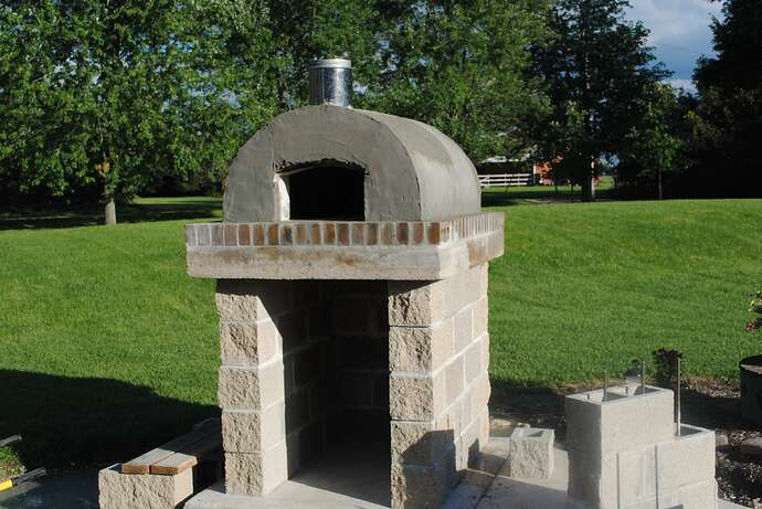 Outdoor Wood Fired Pizza Oven (37)