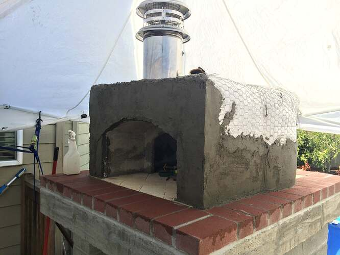 Home Made Pizza Oven (25)
