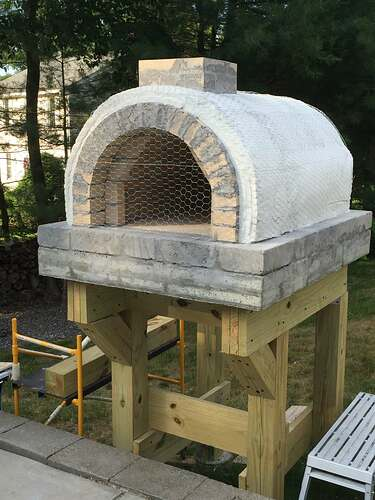 Building a Wood Fired Pizza Oven (30)