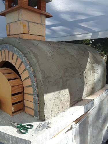 Building A Pizza Oven (169)