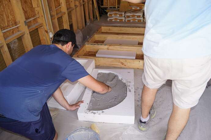 Refractory Cement Pizza Oven (39)