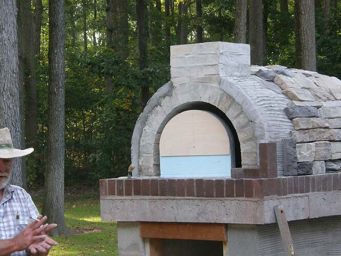 How To Make An Outdoor Pizza Oven (60)