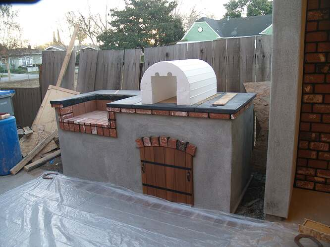 How To Build a Brick BBQ and Pizza Oven (9)