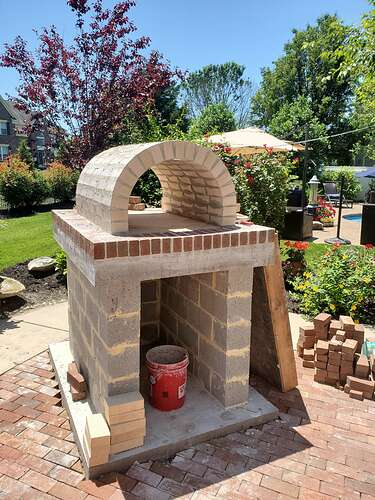 Home Wood Fired Pizza Oven (15)