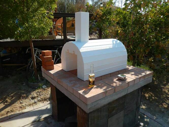 Build Your Own Brick Pizza Oven (17)