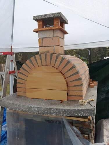 Building A Pizza Oven (147)